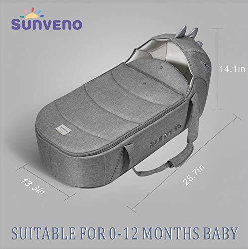 SUNVENO Multifunctional Baby Travel Bassinet