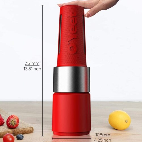 OYeet GoPower One Touch Sports Bottle Personal Blender
