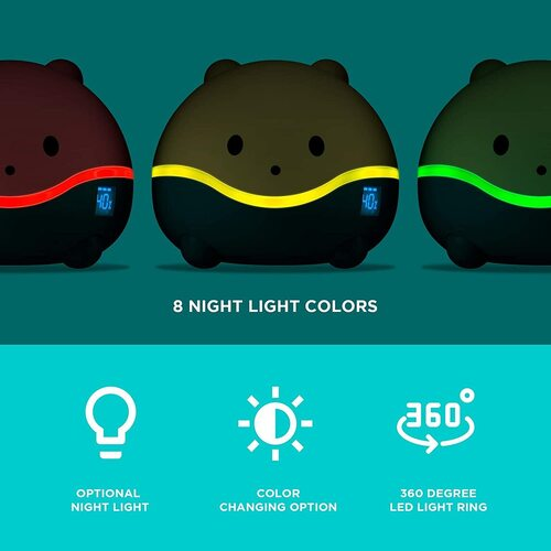 WISPI humidifer, night light, diffuser for children kids toddler babies nursery decor