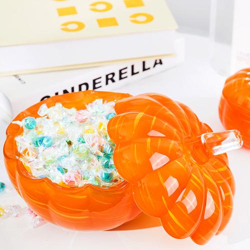 decorative pumpkin jar by diamond star
