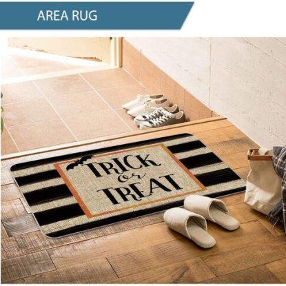 Artoid Mode Durable Halloween Trick or Treat Doormat