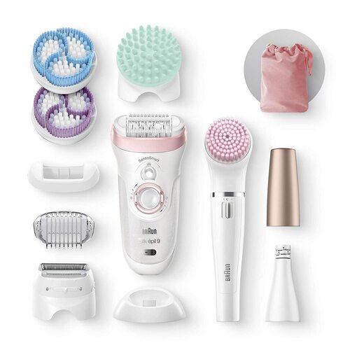 Braun Epilator Silk-Epil 9 9-985 Facial Hair Removal for Women