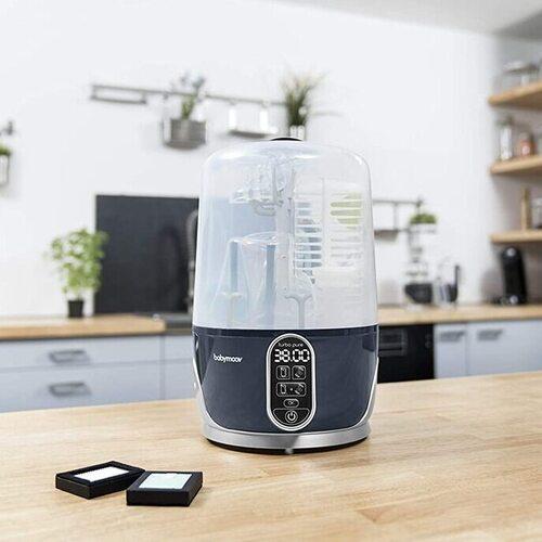Babymoov 4-in-1 Turbo Pure Universal Baby Bottle Sterilizer Dryer