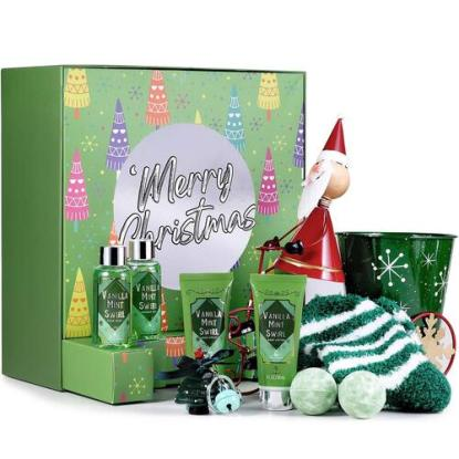 Bath Spa Christmas Gift Set by Body and Earth
