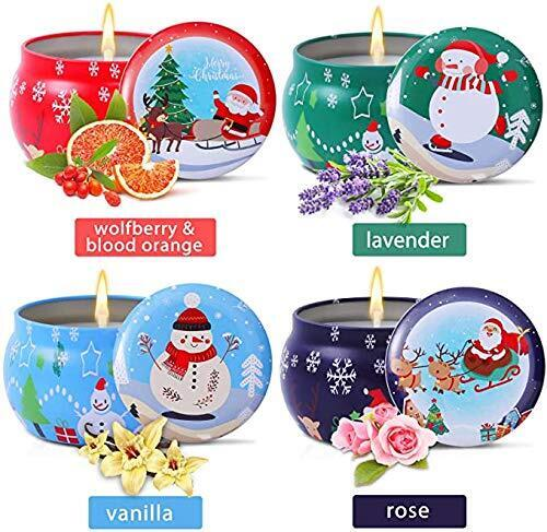 Perfect Christmas Gift Candle Set from Kadell 4 piece