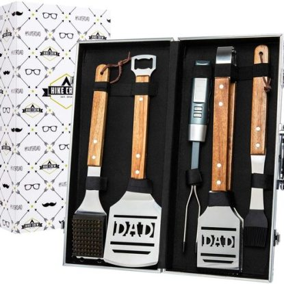 DAD BBQ Tool Set from Hike Crew