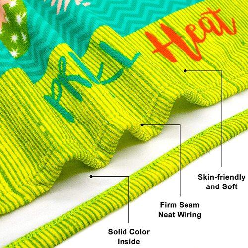 Touchat Skin-friendly Microfiber Beach Towel
