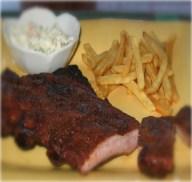 Arkansas Black Barbecue Ribs