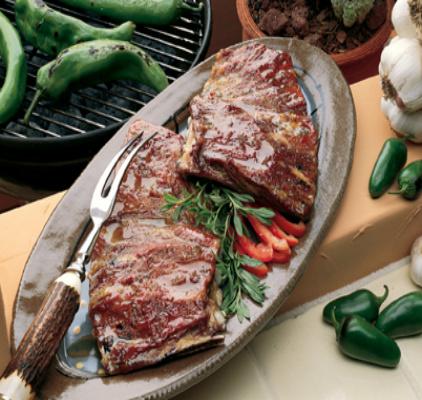 Jalapeño Glazed Lamb Ribs