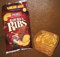 Baby Back Rib Potato Chips