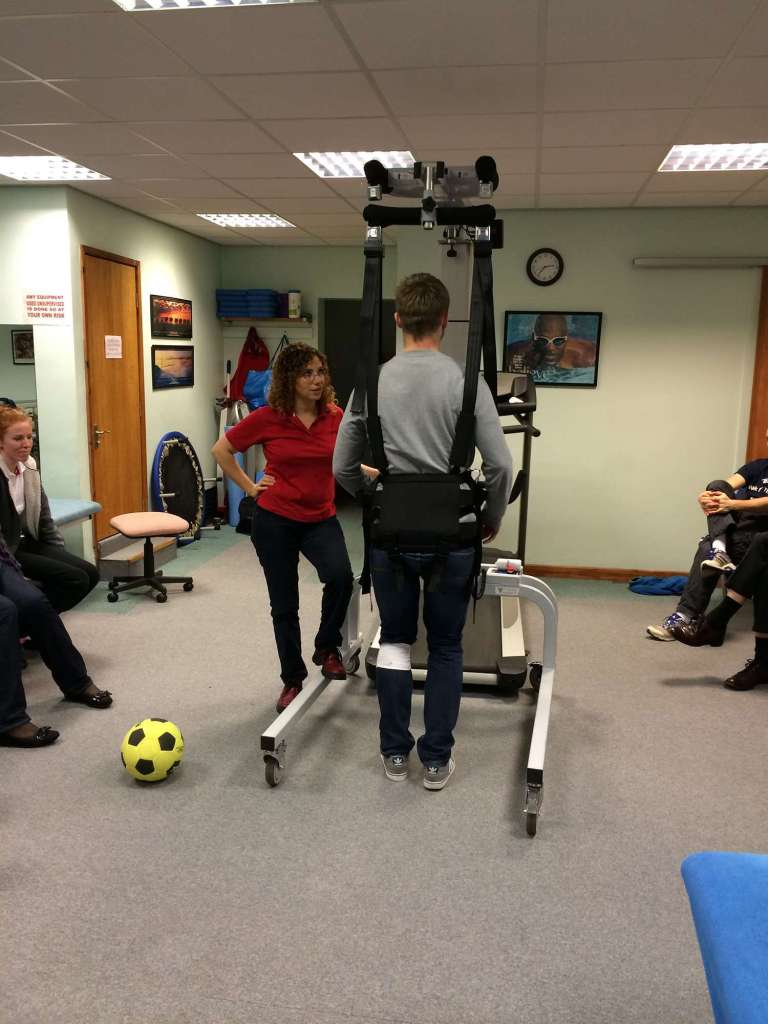 Lite gait course held at Tops Fitness and Rehabilitation Wakefield