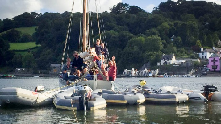 Hester returns to Dittisham