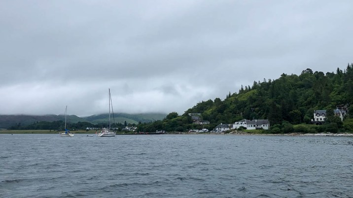 Leaving Port Appin