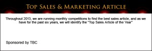 Top Sales & Marketing Article