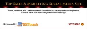 Top Sales & Marketing Awards Social Media Site 2013