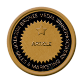 Bronze Medal - Article 2014 Top Sales & Marketing Awards