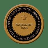 Bronze Medal - Assessment Tool 2014 Top Sales & Marketing Awards