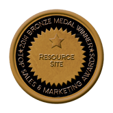 Bronze Medal - Resource Site 2014 Top Sales & Marketing Awards