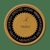 Bronze Medal - Video 2014 Top Sales & Marketing Awards