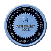 Finalist Medal - Assessment Tool 2014 Top Sales & Marketing Awards