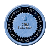 Finalist Medal - CRM Solution 2014 Top Sales & Marketing Awards