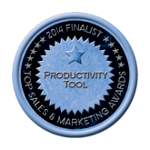 Finalist Medal - Productivity Tool 2014 Top Sales & Marketing Awards