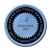Finalist Medal - Resource Site 2014 Top Sales & Marketing Awards