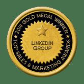 Gold Linkedin Group 2014 Top Sales & Marketing Awards