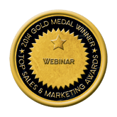 Gold Webinar 2014 Top Sales & Marketing Awards