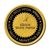 Gold eBook/White Paper 2014 Top Sales & Marketing Awards