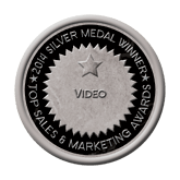 Silver Medal - Video 2014 Top Sales & Marketing Awards