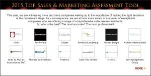 Top Sales & Marketing 2015 Assessment Tool