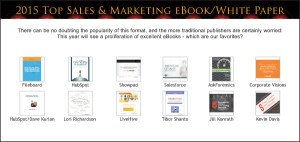 Top Sales & Marketing 2015 eBooks & White papers