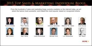 Top Sales & Marketing Awards 2015 Individual Blog