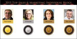 2015 Individual Blog medals