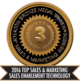 2016 Top Sales & Marketing Sales Enablement Technology - Bronze