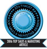 2016 Top Sales & Marketing Article - Finalist