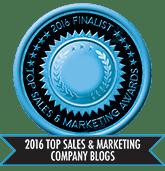 2016 Top Sales & Marketing Company Blog - Finalist