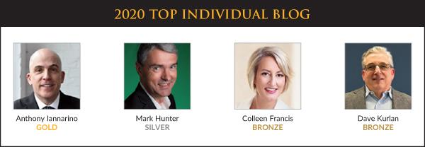 Top Sales & Marketing Awards 2020 - Individual Blog - Winners