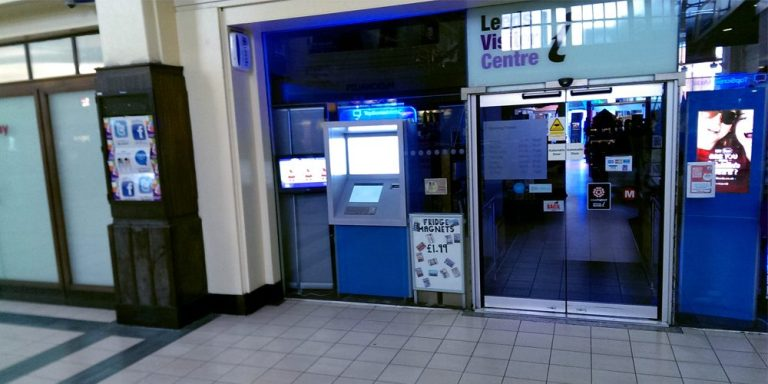 TSM install 24 hour kiosk at Leeds TIC