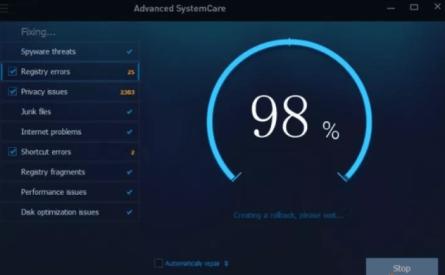 Advanced SystemCare Pro 12.3.0.335 Crack