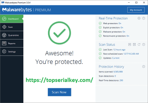 Malwarebytes 4.3.0 Crack & License Key 2021
