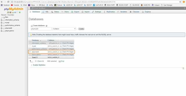 phpmixbill-step2-1, buat database