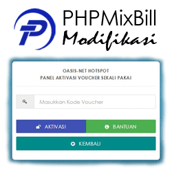 Download PHPMixBill Modifikasi+Template Hotspot MikroTik
