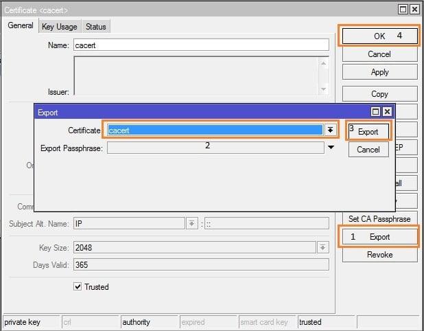 Cara Setting VPN SSTP Pada MikroTik - SSTP Server - step3-min