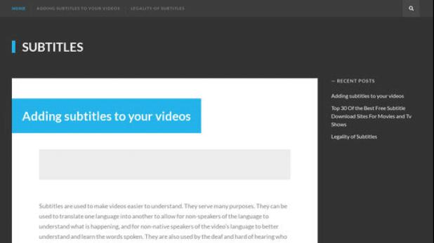 SubsMax - Situs Download Subtitle Gratis