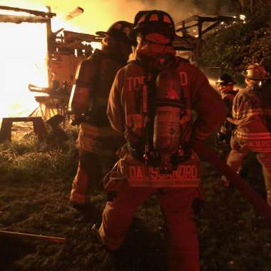 Topsfield Firefighters Handle Overnight Mutual Aid Requests