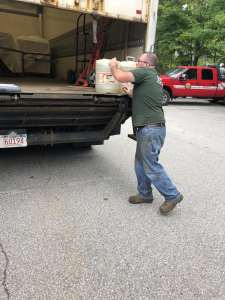 Topsfield FD Disposes of Cancer Causing Firefighting Foam