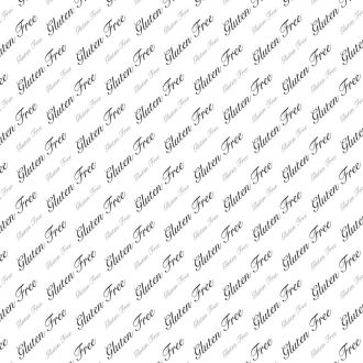 Greaseproof Food Paper Gluten Free Classic Design
