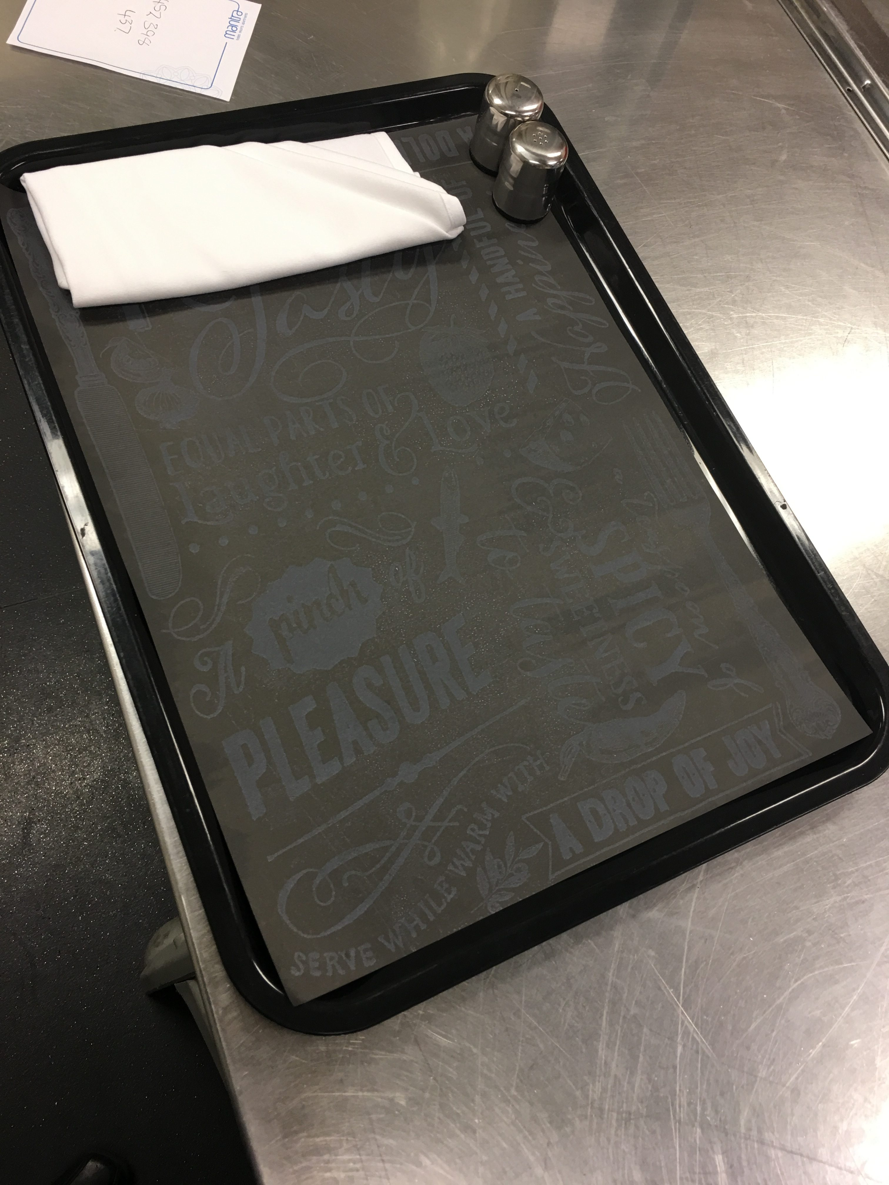 Wax food Paper Tray liner Chalk It Up